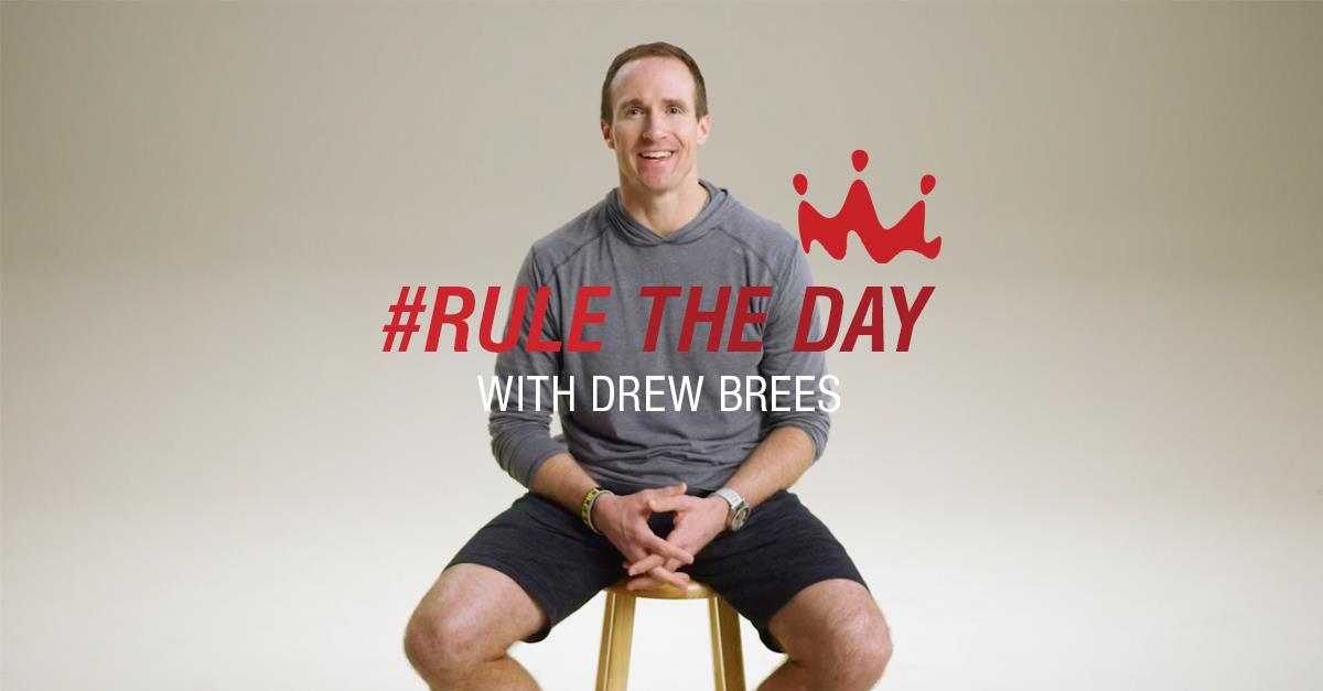 Smoothie King – Rule the Day with Drew Brees, Episode 1